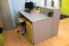 small standing reception desk diyreceptiondesk25 diy building something on small standing reception desk varidesk chair furniture