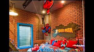 Spiderman Themed For Kids Bedroom Ideas Youtube