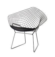 harry bertoia wire chair diamond