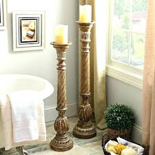 tall wooden candle holders tall candle holders best floor candle holders ideas on tall candle tall