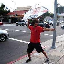 sign twirler 3 x 5 custom arrow spinner signs full color wholesale