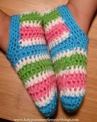 Free Crochet Slipper Patterns Custom 48 Free Patterns For Crochet Slippers