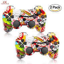Mới Nhất 6 Trục Cho PS3 Chơi Game PS3 Bluetooth Không Dây Bộ Điều Khiển Trò  Chơi PS2 Bluetooth 2.0 Đèn Thanh Pin Polymer|Gamepads