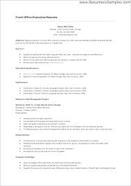 Maintenance Job Resume Objective Simple Example Resume Hotel Maintenance Resume Sample Hospitality