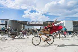 Best Burning Man Bike Lights Happy Together Bicycles And Burning Man Burning Man Journal