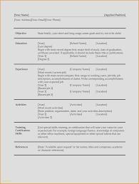 Nice Resume Formats Usajobs Resume Format Awesome Resume Examples Word Elegant Job