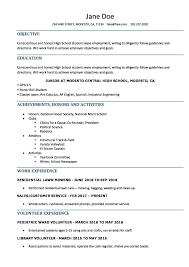 resume examples high school student resume examples for high school graduates ellseefatih com