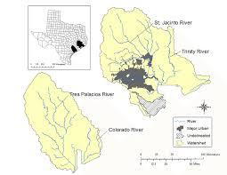 Galveston Bay And Matagorda Bay Watersheds There Was An