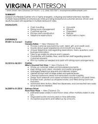Resume For Fast Food Cashier Pin By Job Resume On Job Resume Samples Sample Resume Resume Job