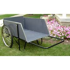 garden cart. Heavy Duty Wooden Garden Cart 0