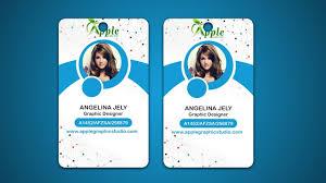 Identity Card Design Design Id Cards Id Badge Adobe Photoshop Tutorial Youtube