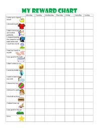 Downloadable Behavior Charts Toddler Behavior Chart Printable Described Child Reward