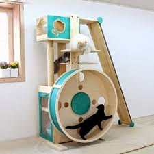 a cat tree hamster wheel build a cat tree h46