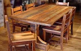 rustic kitchen tables wood table sets unique wooden new lighting of ultramodern island woodworking plans