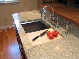 broad ripple cherry kitchen update wrightworks llc sink wood cutting boards kitchen sliding cutting board sink