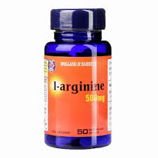 Holland & Barrett <b>L</b>-<b>Arginine</b> 50 <b>Capsules 500mg</b> | Holland & Barrett