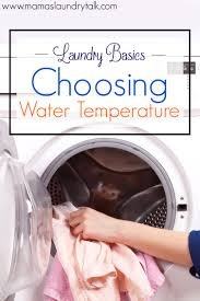 Laundry Basics Choosing Water Temperature  Mamau0027s Laundry TalkHow To Wash Colors In Washing Machine