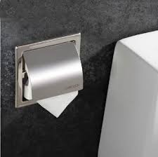 recessed toilet paper holder with cover. Perfect Toilet Modern Chrome Recessed Toilet Paper Holder With Lid  Functional   Wearefound Home Design Cover T