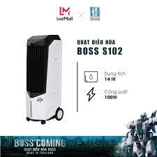 Quạt điều hòa Boss S102 - 14 lít - 100W | Bảo hành 12 tháng chính hãng