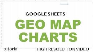 Geo Map Chart With Markers In Google Sheets Tutorial Geographic Heat Map Graph