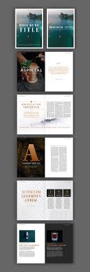 Ebrochure Template 100 Best Indesign Brochure Templates