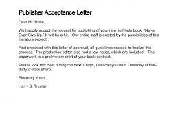 how to write a letter of acceptancepublisher acceptance letter  ‹ ›