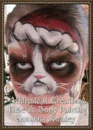 Grumpy cat face painting - Susanna Mosley | Christmas face ...