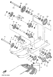1989 yamaha exciter 570 ex570n track suspension 1 parts best oem 1989 ski doo parts diagrams yamaha exciter 2 carburetor parts motor yamaha exciter 570 on