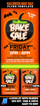 halloween sale flyer halloween bake sale flyer template ianswer