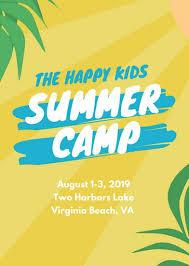 Summer Camp Flyer Template Beauteous Customize 44 Summer Camp Flyer Templates Online Canva