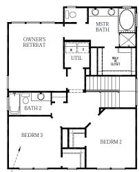 david weekley homes mansfield plan at