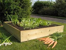 4ft square allotment raised bed flatpack kit 7in high offer nan 22 95 rrp was