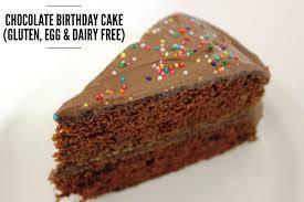 Dairy free birthday cake ~ Dairy free birthday cake ~ Chocolate birthday cake gluten egg dairy free