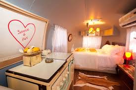 Themed Trailer, Bedroom, Old Mac Daddy, Luxury Trailer Park In South Africa