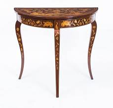 18th Century Dutch Marquetry Console Table at 1stdibs