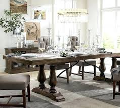 lorraine extending dining table hewn oak fairacres place pottery barn dining room tables pottery barn dining