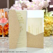 Elegant Invitation Cards Dainty Smooth Glitter Modern Baby Shower Invitations Dl Size Tri Lnd Fgpdl