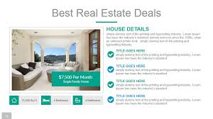 Powerpoint Real Estate Templates Real Estate Powerpoint Presentation Template