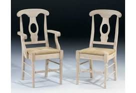 traditional unfinished dining chairs