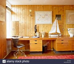 home office drawers. Contemporary Home Country Home Office Detail Tongue And Groove Wood Panelling Desk With  Drawers Swivel Leather Chair Interiors Rooms Offices Natural Materials Colours In E