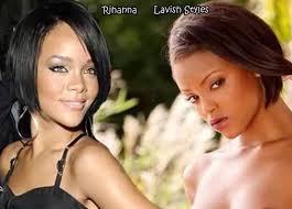 Rihanna porn star look a like