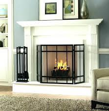 fireplace screen diy fireplace screen fireplace