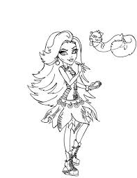 Small Picture Spectra Vondergeist Monster High Coloring Page girls Pinterest