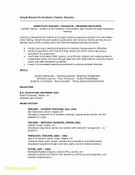 Elegant Teaching Cover Letter Template Best Templates