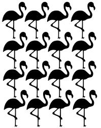 Stickers Flamingo In Meerdere Kleuren Verkrijgbaar Voor Harde