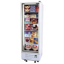 premium upright display freezer with