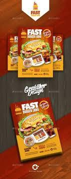 Flyer Design Food 485 Best Food Menu Flyer Poster Images In 2019 Card Templates