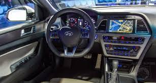 hyundai sonata 2015 black interior. new york auto show i spy the 2015 hyundai sonatau0027s interior u2014 can you find two cool things inside sonata black interior e