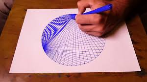 How To Draw Single Pattern Design How To Draw Spirograph Pattern Art In Circle Geometric Tutorial