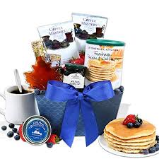 new england breakfast gift basket clic